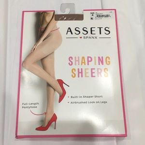Assets Spanx shaping sheers size 4